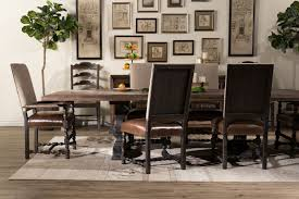 Hooker Hill Country Bandera Brown  Table Mathis Brothers - Hooker dining room sets