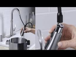 magnetic kitchen faucet kohler k 560 vs bellera pull kitchen faucet with magnetic