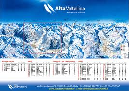 Piste Maps For Italian Ski by Skimap Of Bormio Oga Isolaccia Piste Map Skiexpert Com