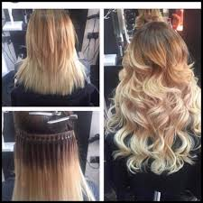 Hair Extension Tips by I Tips Nano Rings Russian Hair Extensions Professional Mobile Hair