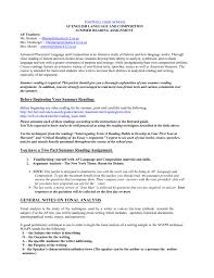 Sample Rhetorical Analysis Essay Ap English From 1991 Ap Lang And Comp Test Question 2