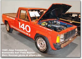 1985 jeep comanche world speed record jeep comanche lsr3