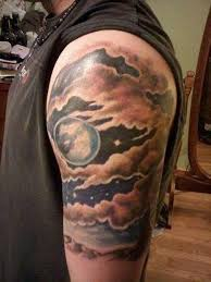 tons of glorious moon tattoos tattoos beautiful