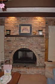 brick fireplace renovation elegant brick fireplace u2013 indoor