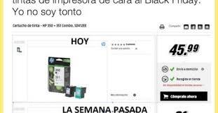 media markt black friday el media markt sigue subiendo precios para el black friday alucina