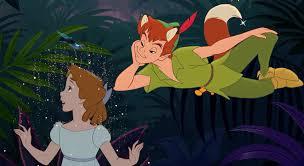 peter pan wendy fox falls love rapunzel magic