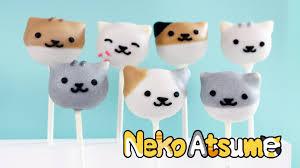 how to make cat cake pops neko atsume youtube