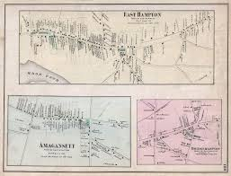 Southampton New York Map by File 1873 Beers Map Of East Hampton Bridgehampton And Amagansett