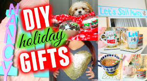 Cute Homemade Christmas Gifts by Diy Holiday Gifts Cute Easy U0026 Cheap Youtube