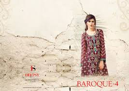 deepsy suit baroque 4 6 designs salwar kameez catalog aadhat b2b