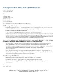 cover letter structure cover letter structure examples cover