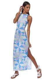 mara hoffman cutout column dress snr column dress mara hoffman