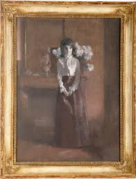 Jackie Kennedy White House Restoration Study For The White House Portrait Of Jacqueline Kennedy By Aaron