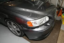 need to repair front bumper cover on s60 r