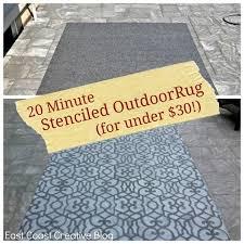 Custom Outdoor Rugs Custom Painted Runner Rugs Garage Mudroom Makeover East Coast