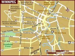 winnipeg map map of winnipeg