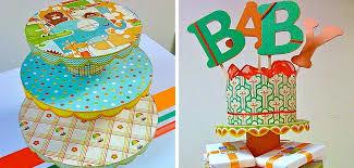 diy baby shower cake stand splendry