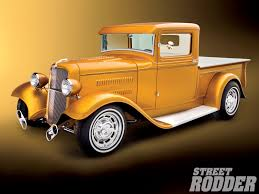 Old Ford Truck Information - 1934 ford pickup rod network