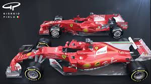 cars ferrari 2017 ferrari u0027s 2017 f1 car inspiration from the past youtube