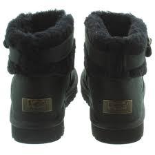 ugg jocelin sale ugg jocelin fur ankle boots in black in black