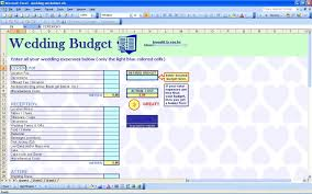 Excel Spreadsheet Example 15 Useful Wedding Spreadsheets Excel Spreadsheet For Wedding