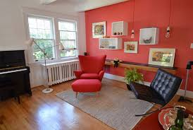 what colors go with red in your home u0027s interior design