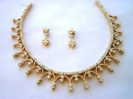 necklace wedding sets images Diamond necklace set design 5 00 ct diamond 18k gold wedding set jpg&a