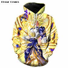 3d print dragon ball z hoodie anime crazy store