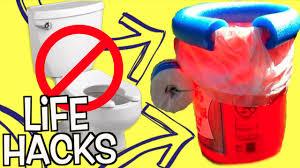 diy hacks youtube 100 crazy weird life hacks you never knew diy toilet hack youtube