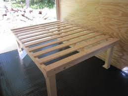 Easy Diy Platform Bed Frame by 2x4 Bed Frame