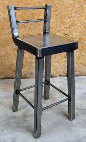 Steampunk Bar Stools Industrial Metal Bar Stool No 002 Por Modernindustrial En Etsy