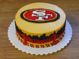 15 best 49ers cakes images on pinterest 49ers cake bachelor