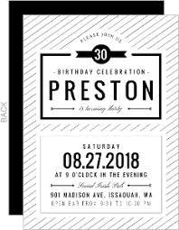 black and white invitations cheap birthday invitations invite shop