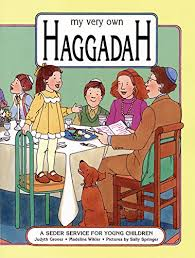 seder for children my own haggadah a seder service for children passover