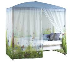 four poster bed with butterfly love canopy for kids in s a