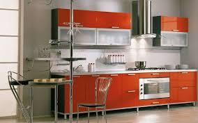 kitchen hood designs ideas stylish cylindrical hood for bright orange kitchen idea stylish