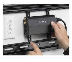 wall mounted surge protector sanus power conditioner and surge protector sanus elements