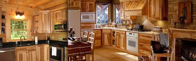 naturalickory kitchen cabinets for with white appliances