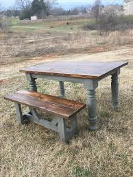 chunky farmhouse table legs love the colors of this pinteres