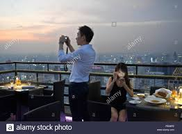 romantic dinner banyan tree rooftop vertigo u0026 moon bar