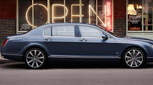 bentley continental flying spur blue bentley unveils u0027series 51 u0027 options for the continental flying spur