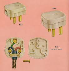 correctly wiring your crabtree three pin plug in 1962 flickr