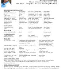free acting resume template free actor resume template fred resumes