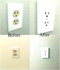 night light outlet cover wall outlet light wall outlet with led night light photo 1