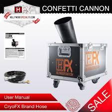 confetti cannon special fx confetti cannon