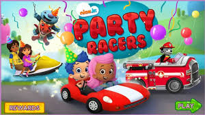 nick jr dora explorer games paw patrol bubble guppies party