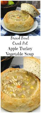 crock pot apple turkey vegetable soup recipe just plum