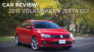 volkswagen gli car review 2016 volkswagen jetta gli driving ca youtube