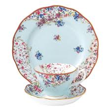 royal albert collection sitting pretty set 3pce s