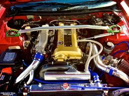 custom nissan 200sx my old nissan 200sx engine bay